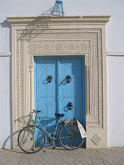 Porte et vélo