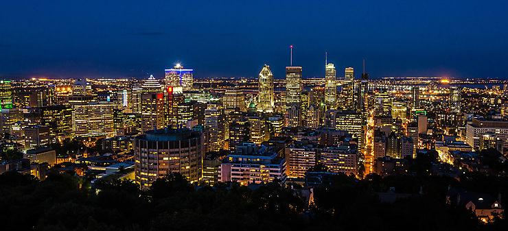 Montréal de nuit, Canada