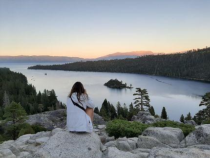 La beauté d'un sunset en Californie