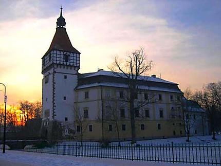 Château sur la route de Karlovy Vary