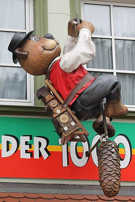 L'ours horloger