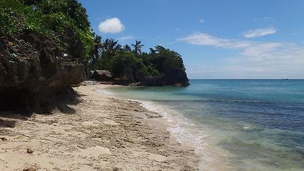 Une plage de Bohol Island