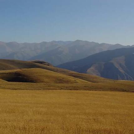 Paysage en Arménie
