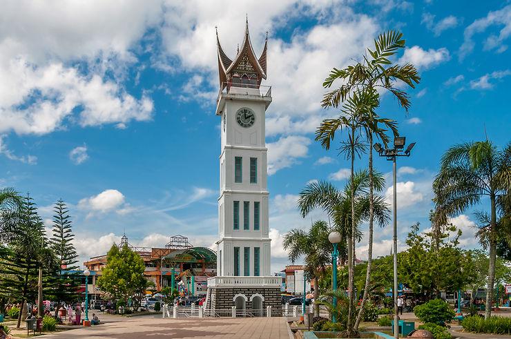 Bukittinggi, capitale du haut pays Minangkabau, et ses environs