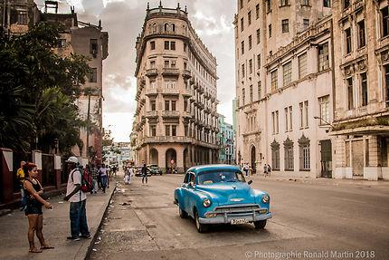 Le flat iron building de Havana