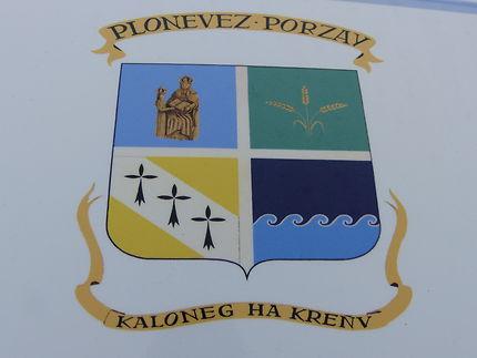 Blason de Plonevez-Porzay