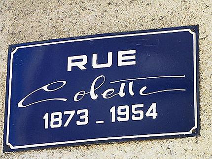 Plaque Colette