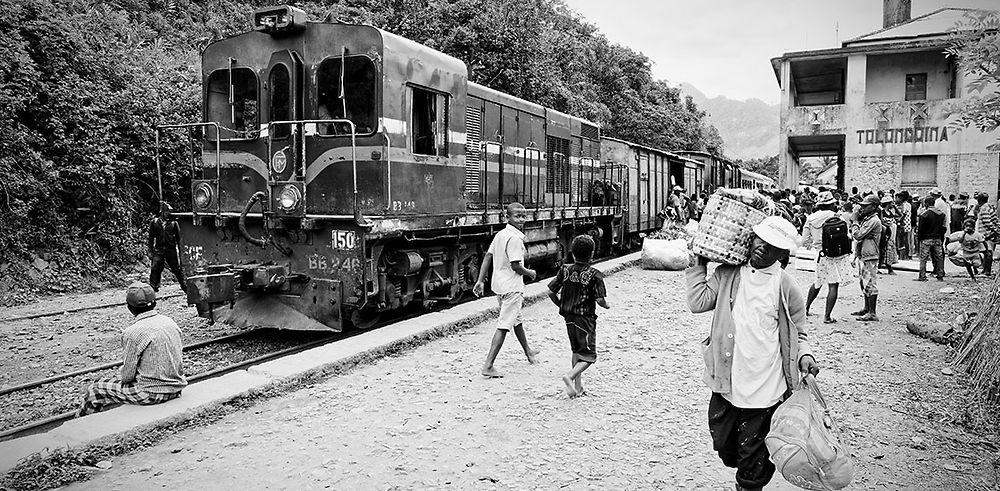 Trajet en train entre Fianarantsoa et Manakara