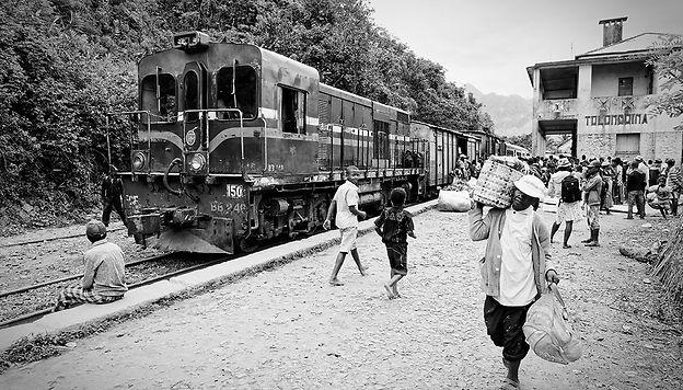 Trajet en train entre Fianarantsoa et Manakara Alain Diveu