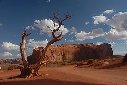 Le désert de Monument Valley