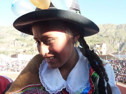 Rêverie de jeune fille de Cotahuasi
