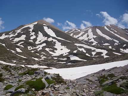 Montagnes blanches