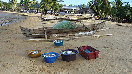 Retour de pêche à Nosy Komba
