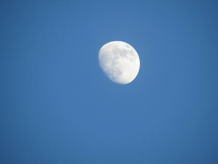 Pleine Lune à Grande-Vallée