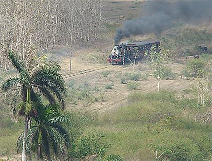 Train à vapeur cubain