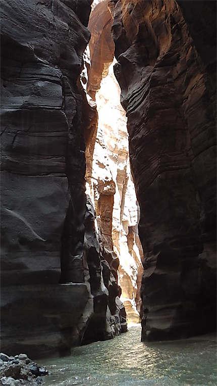 Siq du Wadi Mujib
