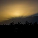 La nuit tombe sur Porto Novo