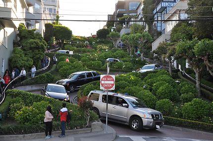 Mythique Lombard St de San Francisco