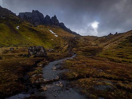 Ecosse - Isle of Skye / Old Man of Storr