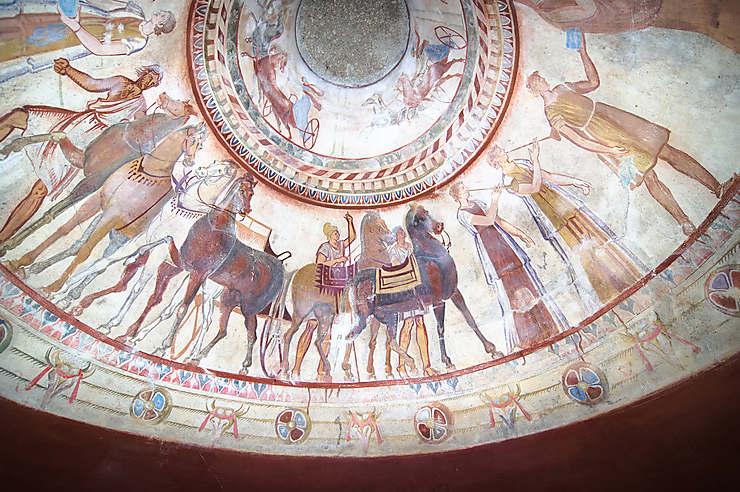 Les tombeaux thraces de Kazanlak