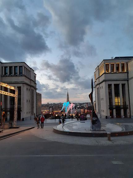 Le Mont des Arts à Bruxelles