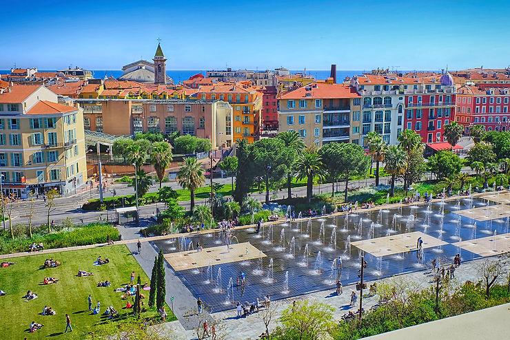 Nice, entre parcs, jardins, vignobles et oliviers