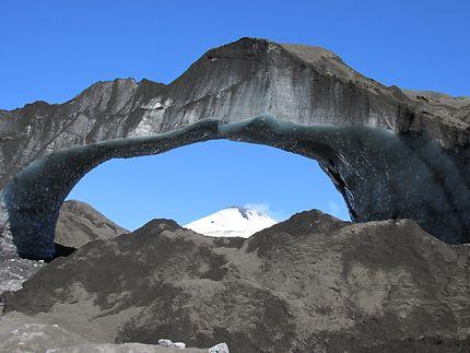 Arc du glacier Pichillancahue