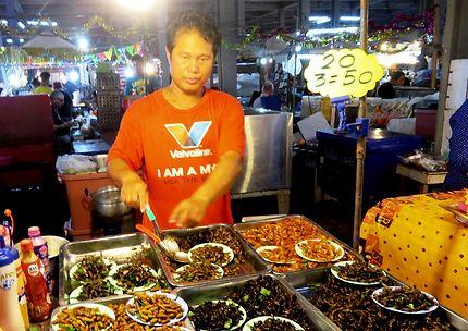 Cuisine et insectes divers, Pattaya