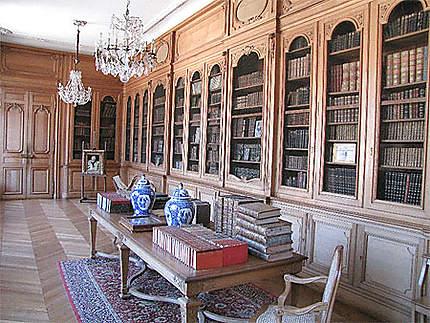 La bibliothéque du château