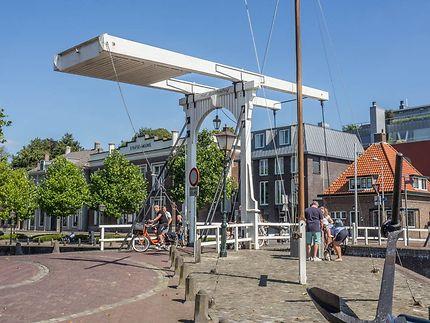 Le port de Goes, Pays-Bas