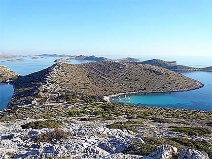 Raid en catamaran dans les îles Kornati