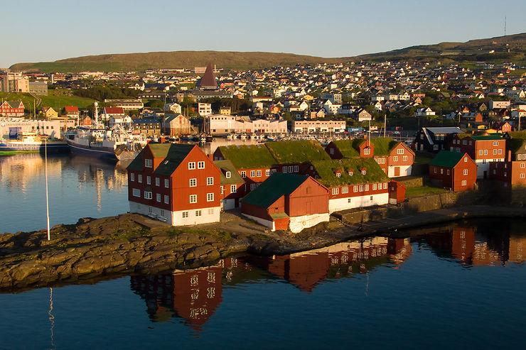 Tórshavn, capitale des Féroé