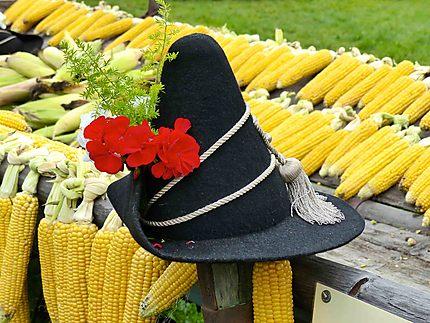 Chapeau tyrolien, maïs. Kramsach
