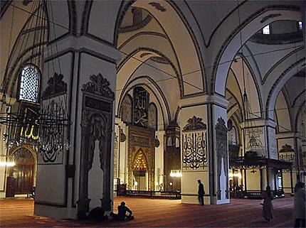 A l'intérieur de l'Ulu Camii