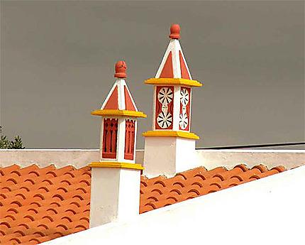 Jolies cheminées de l'Algarve