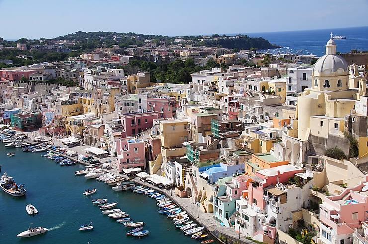Archipel napolitain : Procida, Ischia, Capri (Campanie)