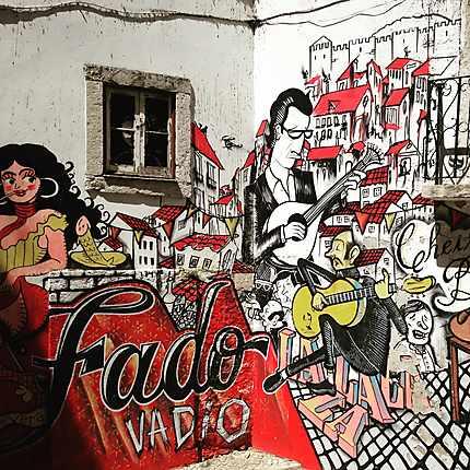 Street art Alfama
