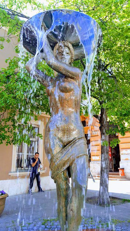 Fontaine à Buda