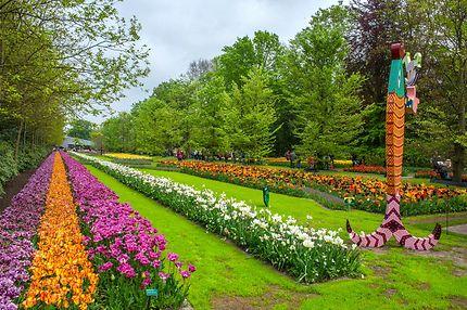 Parc du Keukenhof de Lisse, Pays-Bas