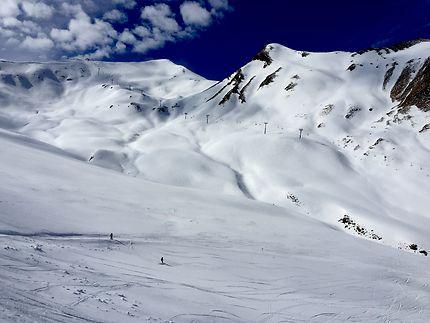 Un nuage de neige, La Foux-d'Allos