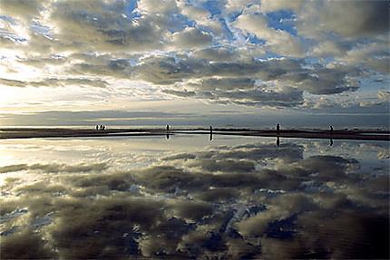 Marée basse sur la Côte d'Opale