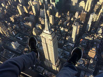 Empire State Building à nos pieds