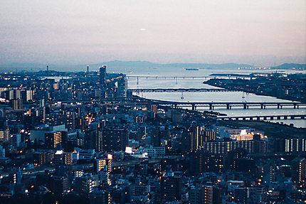 Osaka depuis Omeda skybuilding