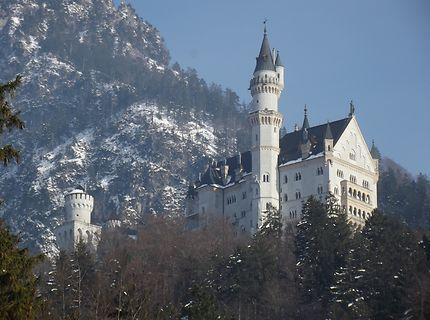 Féerie hivernale en Bavière, Neuschwanstein