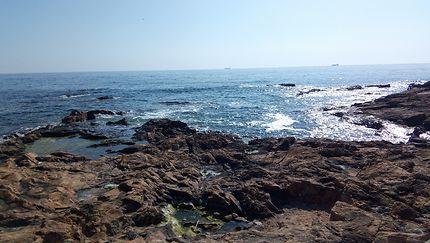 Vue de l'océan près de Porto