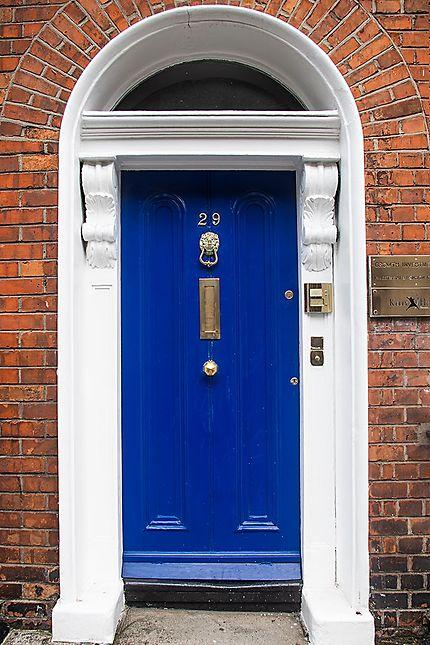 Les portes d'entrée colorées