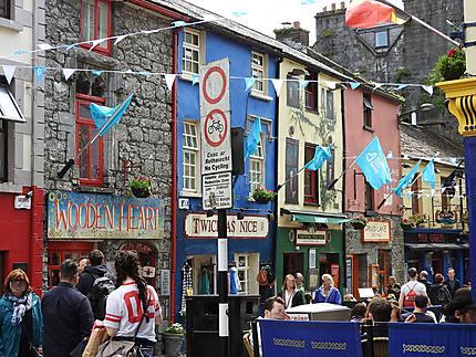 Couleurs Irlandaises en ville