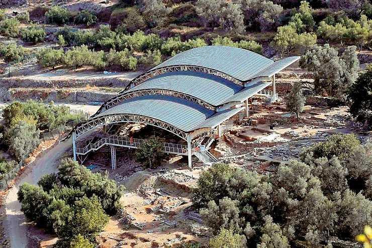 Crète - Eleftherna : un nouveau musée archéologique au sud-est de Rethymnon