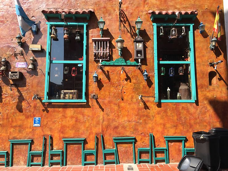 Dans les rues de Carthagène, Colombie