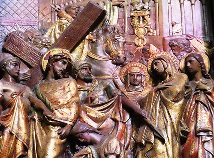 Scène du chemin de croix